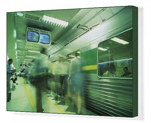 canvas-print-of-passengers-boarding-train-at-parliament-station-in-the-city-of-melbourne