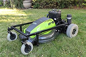 "21"" Fully Electric Eco-Friendly Remote Control Lawn Mower from Stephen's Repair"