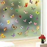 Butterfly Pattern Decorative Wall Art Stickers