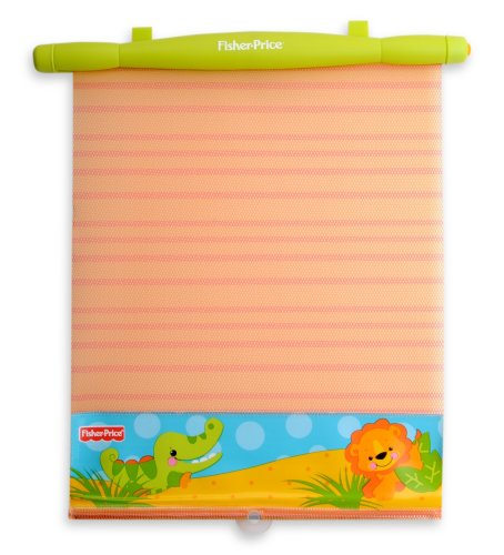 Fisher Price Precious Planet 2-Pack Clear View Roller Shades front-284695