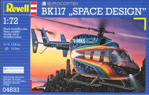 Revell of Germany Eurocopter BK 117 Space Design Plastic Model Kit