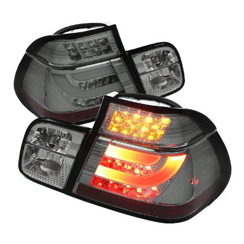 Spyder Auto Alt-Yd-Be4699-4D-Lbled-Sm Bmw E46 3-Series 4-Door Smoke Light Bar Style Led Tail Light