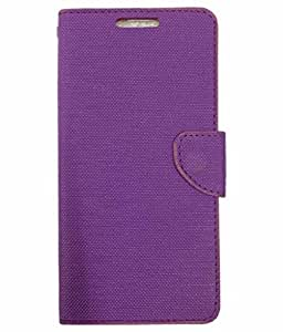 ZYNK CASE FLIP COVER FOR COOLPAD MAX-PURPLE