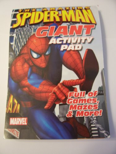 The Amazing Spiderman Giant Activity Pad ~ 224 Pages - 1