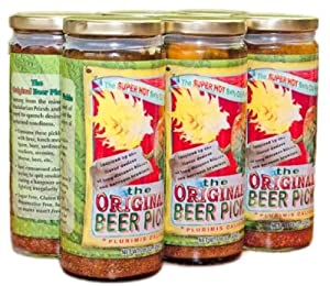 Original Beer Pickle 6 Pack 6 -16oz Pint from Conscious Choice Foods
