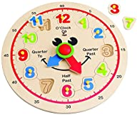 Hape – Happy Hour Clock – Time Learni…