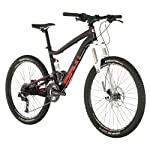 Diamondback 2013 Sortie Trail Full Suspension Mountain Bike with 26-Inch Wheels  (Black, 17-Inch/Medium)