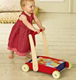 Early Learning Centre Wooden Classics ~ Toddle Truck with Blocks