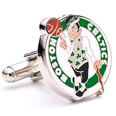 Boston Celtics Cufflinks - NBA Basketball Sports Themed Formal Wear