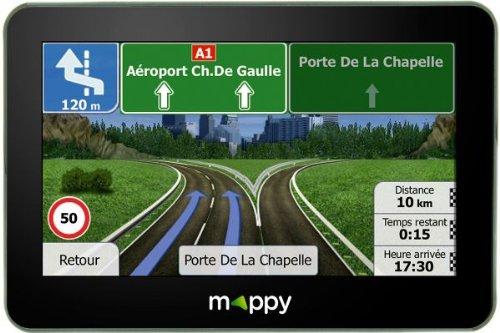 Mappy ITI S449 GPS Eléments Dédiés à la Navigation Embarquée Europe Fixe, 16:9