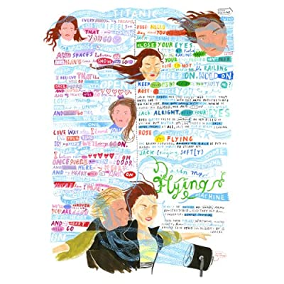 Titanic Film Script by Jess Wilson (Ltd Edition Print)