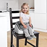 Ingenuity Smartclean Toddler Booster, Slate