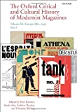 img - for The Oxford Critical and Cultural History of Modernist Magazines: Volume III: Europe 1880 - 1940 (Oxford Critical Cultural History of Modernist Magazines) book / textbook / text book