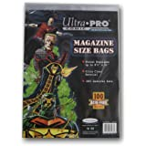 Ultra Pro Magazine Size Bags 100 Acid Free Bags