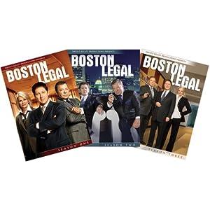 Boston Legal: Seasons 1-3 movie