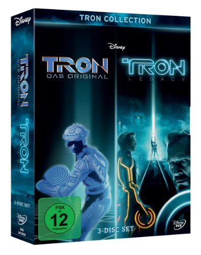 TRON Collection: TRON / TRON Legacy [3 DVDs]