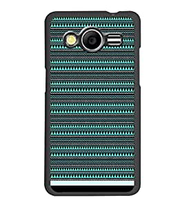PrintDhaba Tribal pattern D-1759 Back Case Cover for SAMSUNG GALAXY CORE 2 G355H (Multi-Coloured)