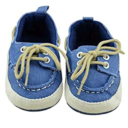 Voberry® Baby Toddler Walking Canvas Shoes for Autumn Outdoor (9-12months)