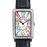(ラメットベリー)Rametto Belly 腕時計 RAB2800 サフィアノレザー 牛革 替えベルト3本付き マルチカラー レディース