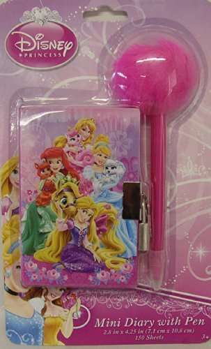 Disney Princess Mini Diary with Pen - 1