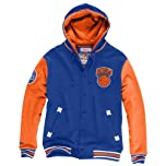 Mitchell and Ness Mens New York Knicks Fleece sweater by Mitchell & Ness
