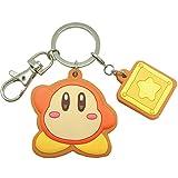 Kirby Wadorudi galletas de la estrella llavero