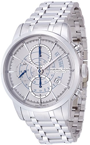 Hamilton-Mens-AMERICAN-CLASSIC-Swiss-Automatic-Stainless-Steel-Dress-Watch-ColorSilver-Toned-Model-H40656181