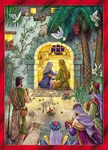 Peaceful Nativity Christmas Cards - Set of 15