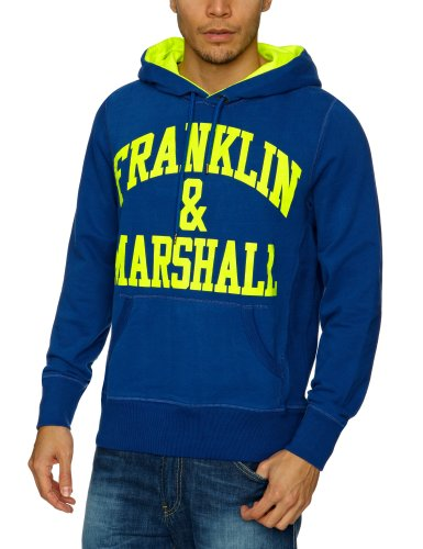 Franklin & Marshall FLMR667S13 Men's Sweatshirt Original Blue Medium