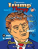 Trump Therapy Coloring Book