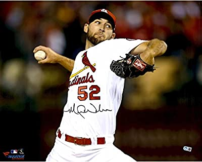 "Michael Wacha St. Louis Cardinals Autographed 16"" x 20"" Ball In Hand Photograph - Fanatics Authentic Certified"