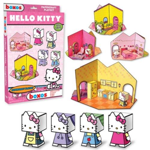 Funko Hello Kitty Papercraft Playset - 1