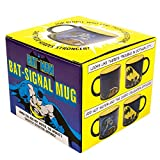 Batman Bat Signal Mug DC Comics Officially Licensed - Heat Sensitive Color Changing Coffee Cup - Add Hot Liquid and Gotham Summons The Dark Knight