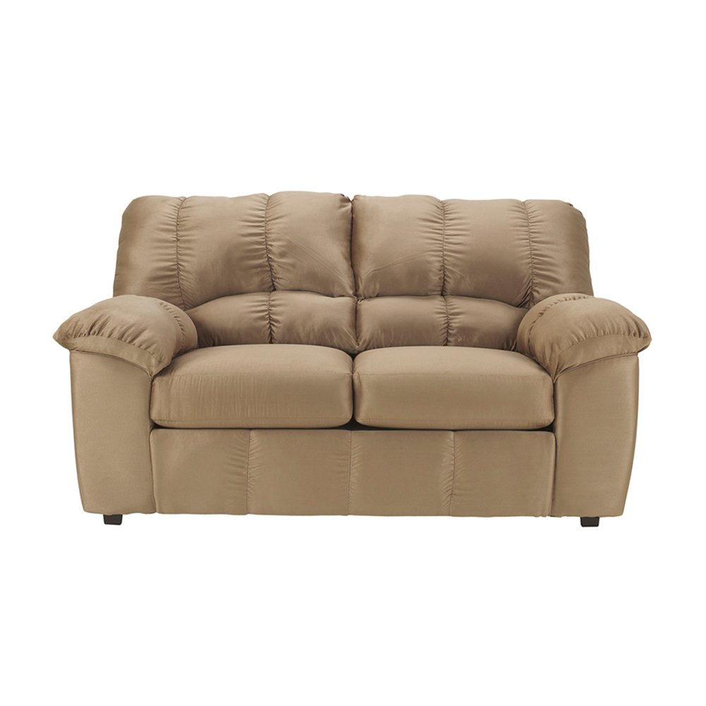 Offex OF-FSD-8799LS-MOC-GG Signature Design by Ashley Dominator Loveseat - Mocha