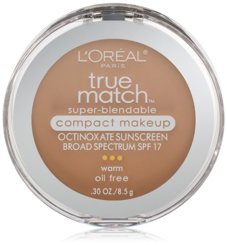 L'Oreal Paris discount duty free L'Oreal Paris True Match Super-Blendable Compact Makeup, Natural Beige, 0.30 Ounces
