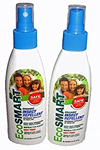EcoSmart Organic Insect Repellent 2-Pack