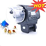 Lychee Aquarium Automatic Fish Food Tank Feeder Timer Auto Feeder