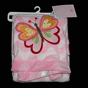 Amazon Com Amy Coe Pink And White Butterfly Bloom Baby