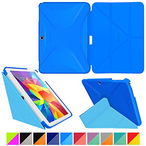 roocase-samsung-galaxy-tab-4-101-case-origami-3d-pacific-blue-barbados-blue-slim-shell-26cm-26cm-sma