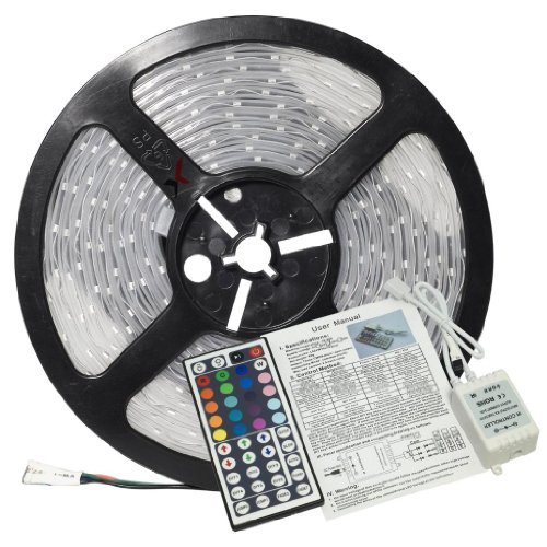 How Nice 5M 5050 Rgb 300 Leds Waterproof Flexible Led Strip Light+Ir Remote System Ld45 6 Colors Changing