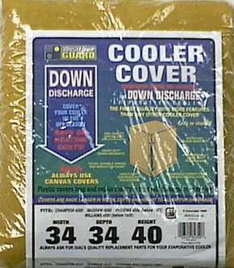 "Dial Cooler Cover 34 "" W X 34 "" D X 40 "" H For Down Dischargeunits"