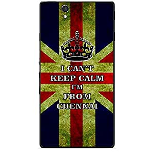 Skin4gadgets I CAN'T KEEP CALM I'm FROM CHENNAI - Colour - UK Flag Phone Skin for SONY XPERIA Z (L36h)