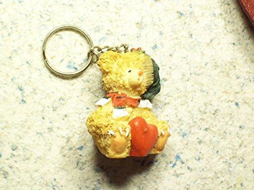 5 x Schlüsselanhänger, Taschenanhänger Teddy,