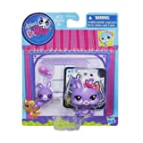 Bunny and Baby Bunny Littlest Pet Shop Figures