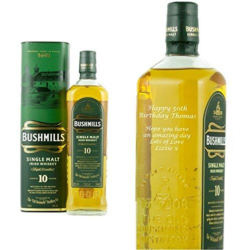 personalised-bushmills-10-year-malt-70cl