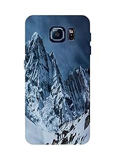Bagsfull Designer Printed Matte Hard Back Cover Case for Samsung Galaxy S6 Edge