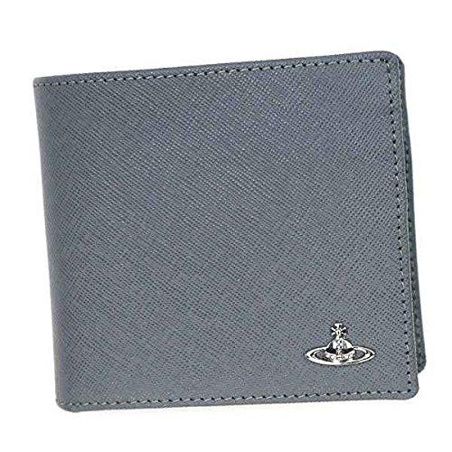 Vivienne Westwood ヴィヴィアン・ウエストウッド WALLET W/HORIZONTAL COIN HOLDER カードケース グレー 33170 [並行輸入品]