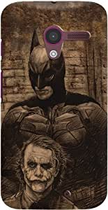 DailyObjects Batman Case For Moto X (Back Cover)