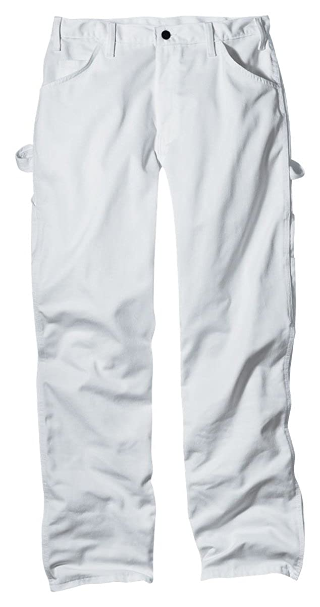 Amazon.com: Dickies WP820 Men's Premium Painter's Pants White ...