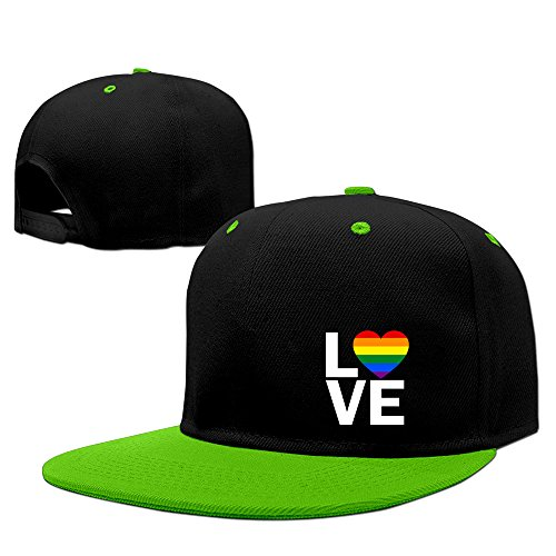love-pride-hip-hop-gorra-de-beisbol